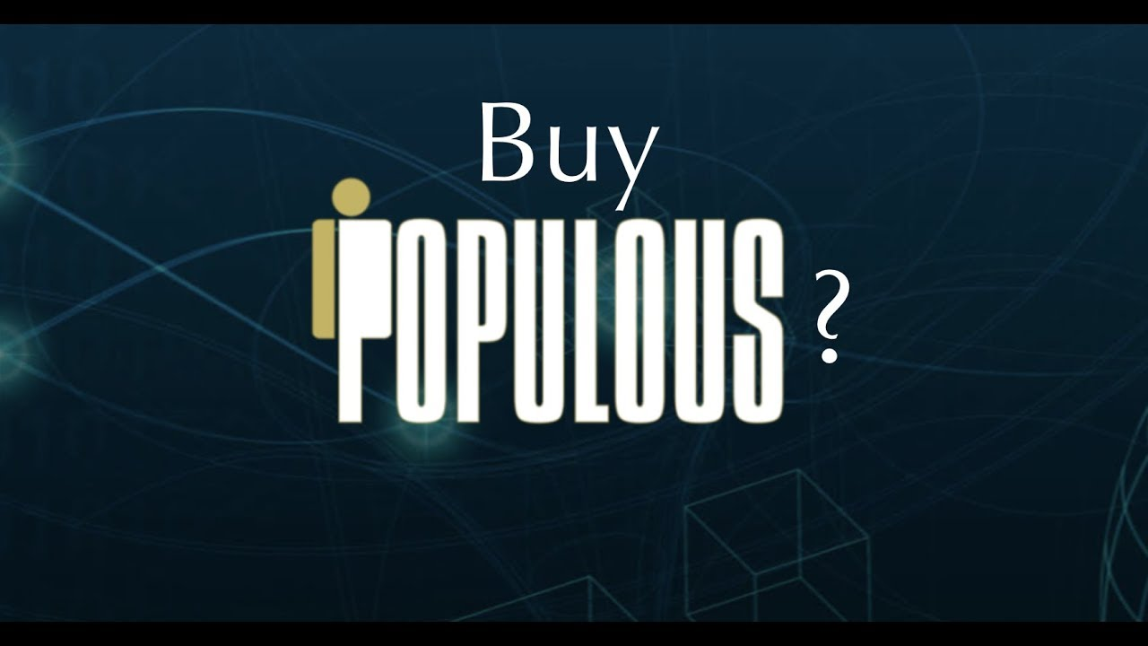Buy Populous Coin? Invoicing Platform Worth a Buy before 2018