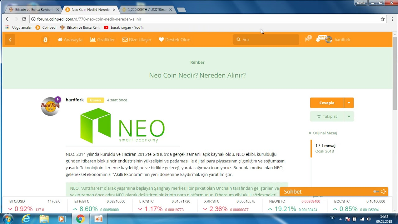 Neo Coin Nedir? Nereden Alınır?