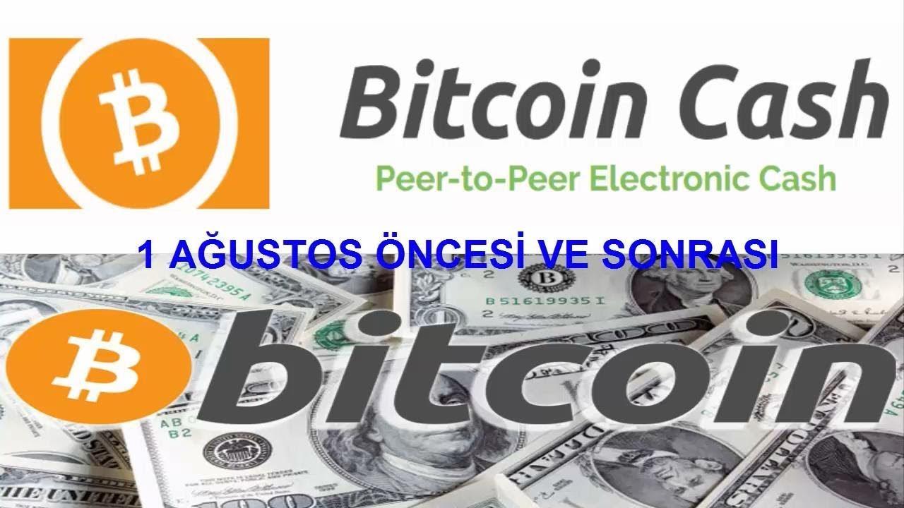 Bitcoinde Hard Fork (Sert Çatallanma) Yeni Kriptopara Bitcoin Cash