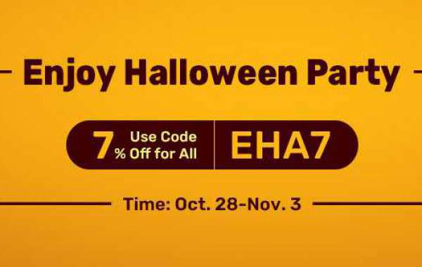 Up to 7% off rs buy gold with Code EHA7 for you to Take Part In Halloween Party