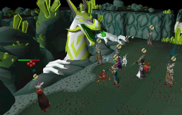 The new guards to the Runescape safe area