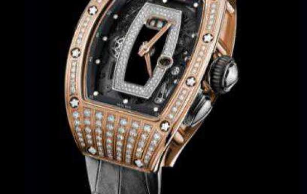 Best Richard Mille RM 07-01 Ladies Gold Carbon TPT Replica Watch