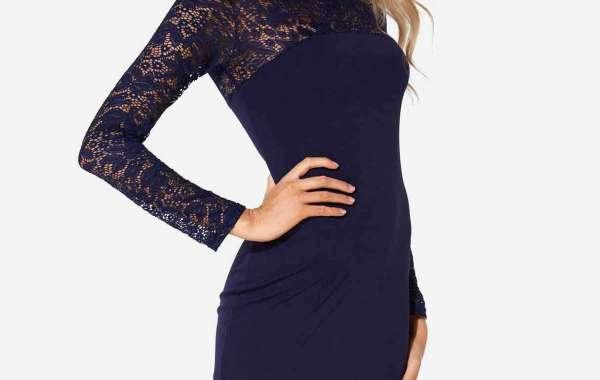 Round Neck Leopard Long Sleeve Plus Size Dress