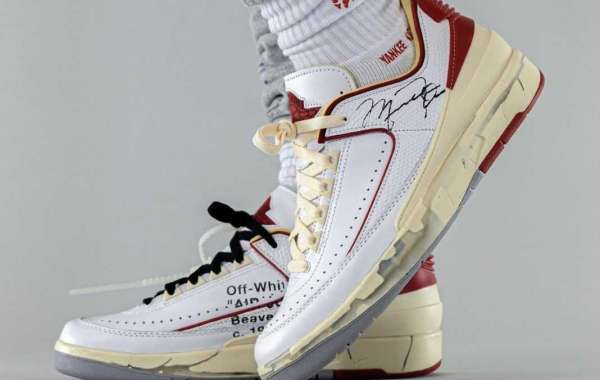 Newness Off-White x Air Jordan 2 Low White Red DJ4375-106 to release on September 23th